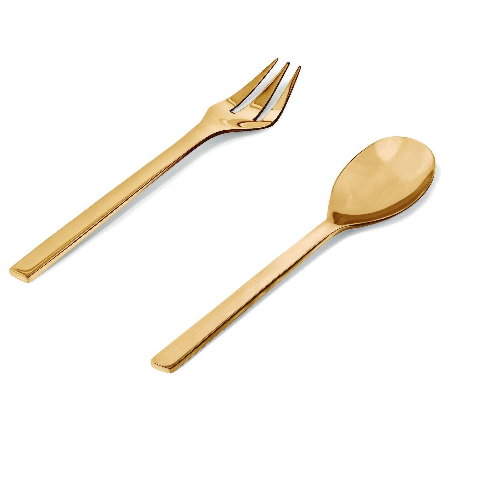 Alessi Colombina cuiller à et Servir Fork Set