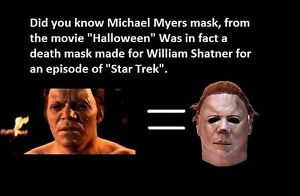 best quality William Shatner Life Mask Cast