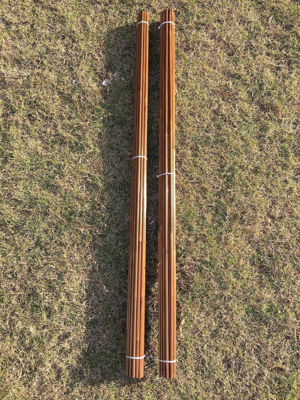 50pcs NewTonkin Bamboo arrow shaft  handmade 65-70 (84cm)long only shafts