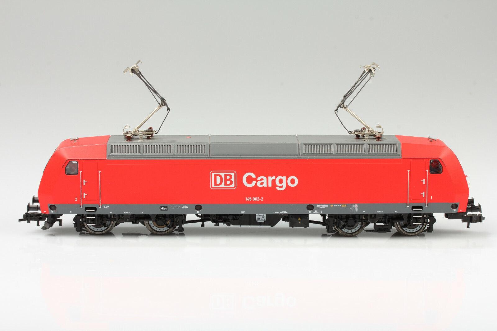 Fleischmann H0 schöne DB Cargo 145 002-2 dig. 3 läuft Schmutz Mängel o. OVP