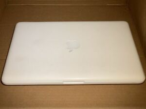 Apple-MacBook-White-Unibody-13-034-A1342-MID-2010-2-4GHz-4GB-320GB-034-AS-IS-034-READ