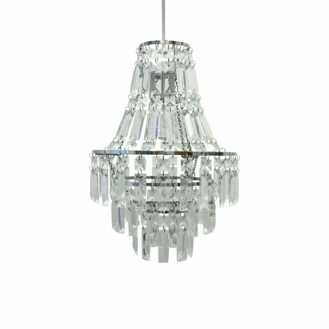 Easy Fit Light Fitting Ceiling Shade Lighting Decoration Pendant Chandelier New