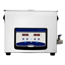 Commercial 15l Ultrasonic Cleaner Industry Heated Heater Withtimer Jewelry Glasses
