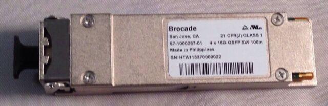 Brocade 57-1000267-01 XBR-000232 4 x 16GB QSFP for 8510 SAN Director