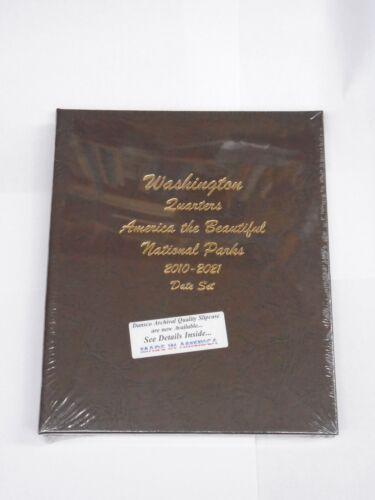 Washington National Park Quarters 2010-2021 NEW Dansco Coin Album # 7148 U.S