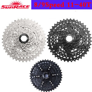 SunRace-8-9-Speed-11-40T-MTB-Bike-Cassette-Freewheel-Adapter-fit-SHIMANO-SRAM