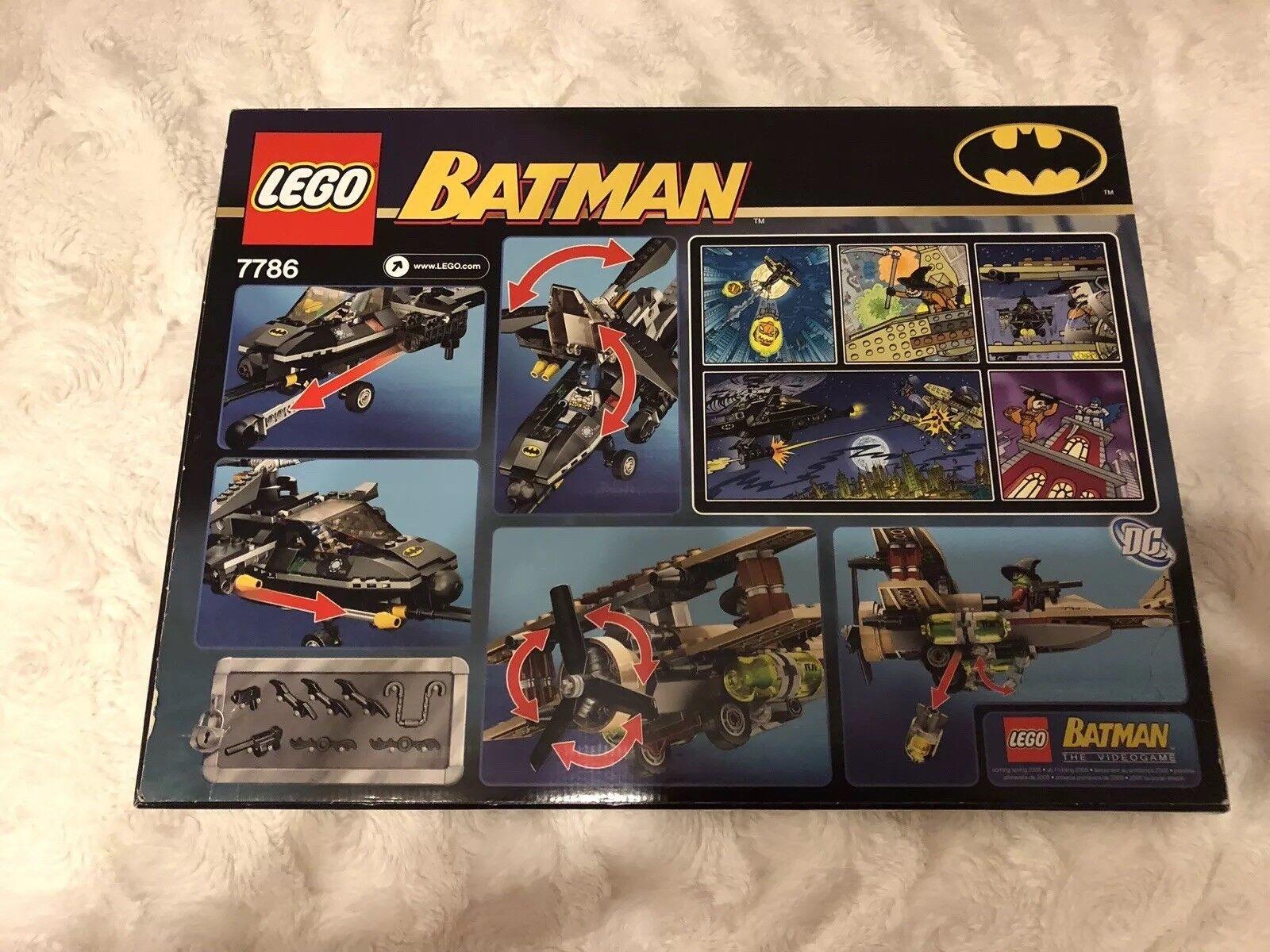 LEGO LEGO LEGO Batman Batcopter Die Jagd auf Scarecrow (7786) ff276c