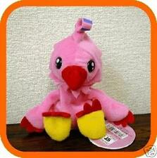 "Biyomon Digimon Plush 6"" Soft Bean Bag Bandai Japan New"