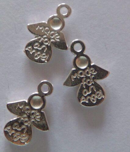 30 Silber oder Bronze Engel-Anhänger  made for an Angel  für liebe Menschen