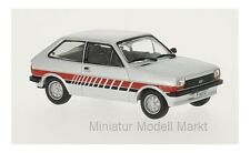 #144 - WhiteBox Ford Fiesta MKI Festival - silber - 1981 - 1:43