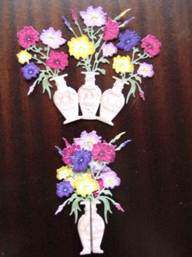 Tattered Lace dado corta 3d Vintage botánicos Petunia Flor 5 Color 1 de cada uno