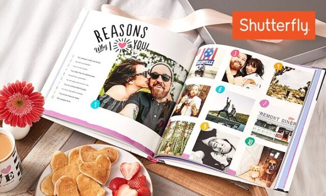 Shutterfly 8X8 Hard Cover Photo Book & Storytelling Style Coupon exp 2/28/22