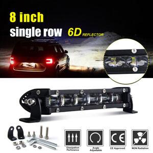 7inch-90W-Barre-LED-Rampe-Light-bar-phare-de-travail-12V-24V-SUV-ATV-4x4-Offroad