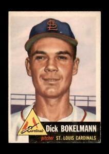 1953-Topps-Set-Break-204-Dick-Bokelmann-VG-VGEX-GMCARDS