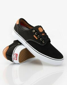 ca326866014 Vans Chima Ferguson Pro Black White Tan UltraCush MEN S 7 WOMEN S ...