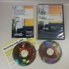 GENUINE Microsoft Office 2003 Professional Upgrade Version Software With BCM