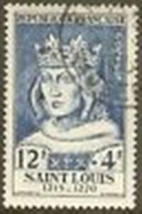 FRANCE-TIMBRE-STAMP-N-989-034-SAINT-LOUIS-12F-4F-034-OBLITERE-TB-R122