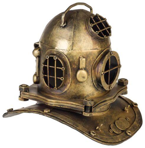 Casco di immersione subacquea 32cm decorazione metallo en stile antico