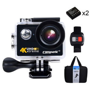 campark act73r action camera 4k sports cam wifi helmkamera. Black Bedroom Furniture Sets. Home Design Ideas