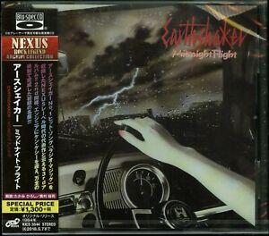 Earthshaker Midnight Flight CD new Japan press