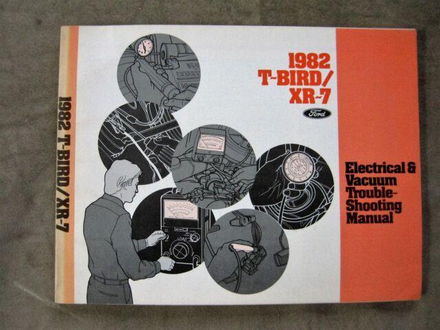 1982 Ford Thunderbird Cougar Xr7 Wiring Diagram Electrical