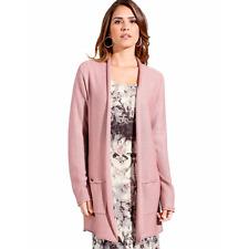 Ambria Longline Cardigan Pink Size UK 22 TD074 02 B