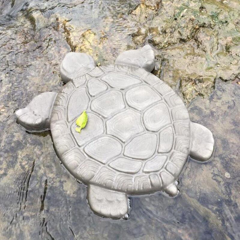 Tortoise Garden Path Stone Mold Concrete Cement Mould