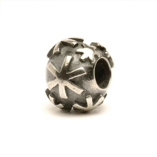 AUTHENTIC TROLLBEADS SILVER SNOW TAGBE-20091 FIOCCO DI NEVE