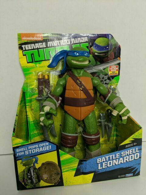 Playmates Toys Leonardo Battle Shell Action Figure For Sale Online