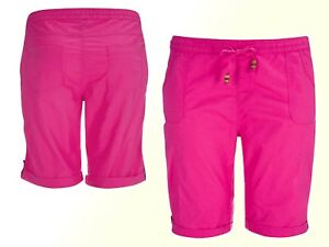Details zu #Neu Janina Damen Bermuda Shorts kurze Hose Baumwolle Gr. 54, 56, 58 Übergröße