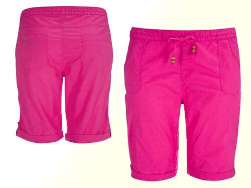 Damenshose shorts bermuda pantalon court grande taille taille 56 NEUF COTON