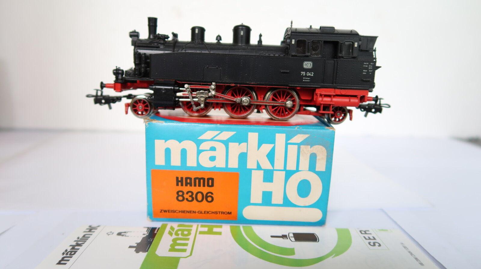 Märklin HO DC 8306 Dampf Dampf Dampf Lok BR 75 042 DB (CQ 437-39R7 15)  | Moderne und stilvolle Mode  a8ce3d
