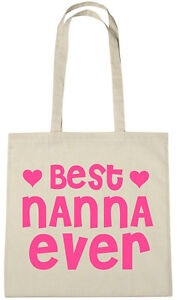 Image Is Loading Best Nanna Ever Bag Gift Ideas Christmas Birthday