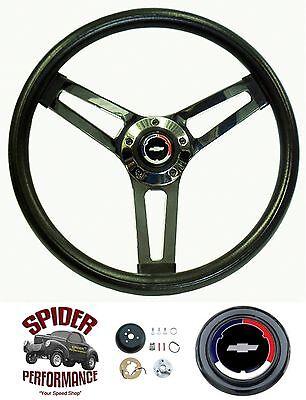 1967-1968 Chevelle EL Camino Malibu steering wheel CLASSIC BOWTIE 14 1/2 SHALLOW
