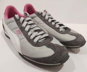 Fascinante Formular sesión  Puma Speeder Gris y Rosa Tenis Running Zapatos Tenis deportivas Mujer 9  (8.5) | eBay