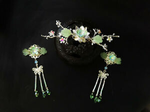Retro-women-girls-Flowers-beads-Tassel-Hairpin-for-Kimono-Hanfu-cosplay