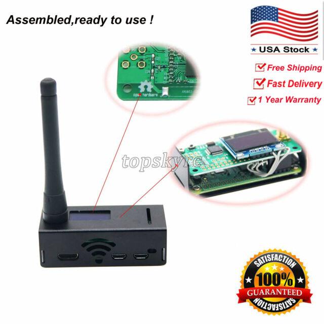 Assembled MMDVM Hotspot Support P25 DMR YSF OLED Antenna tsUS Raspberry pi