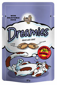 Dreamies Cat Treats 60g Canard-afficher Le Titre D'origine I23utha5-10124217-598946826