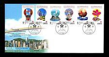 Postal History Hong Kong Scott #793-798  FDC Return of Hong Kong to PRC China