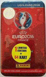 1 limited card Panini Adrenalyn XL Road to UEFA EURO 2016 France Tin 9 booster