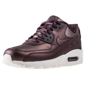 Women's Nike Air Max 90 Premium Running Shoes 896497 903 Sizes 6-8.5 M Mahogany
