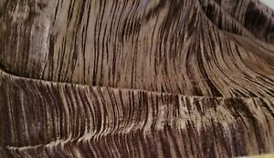 CRUSHED-VELVET-Chocolate-52-034-wide-sold-by-yard-No-Strech