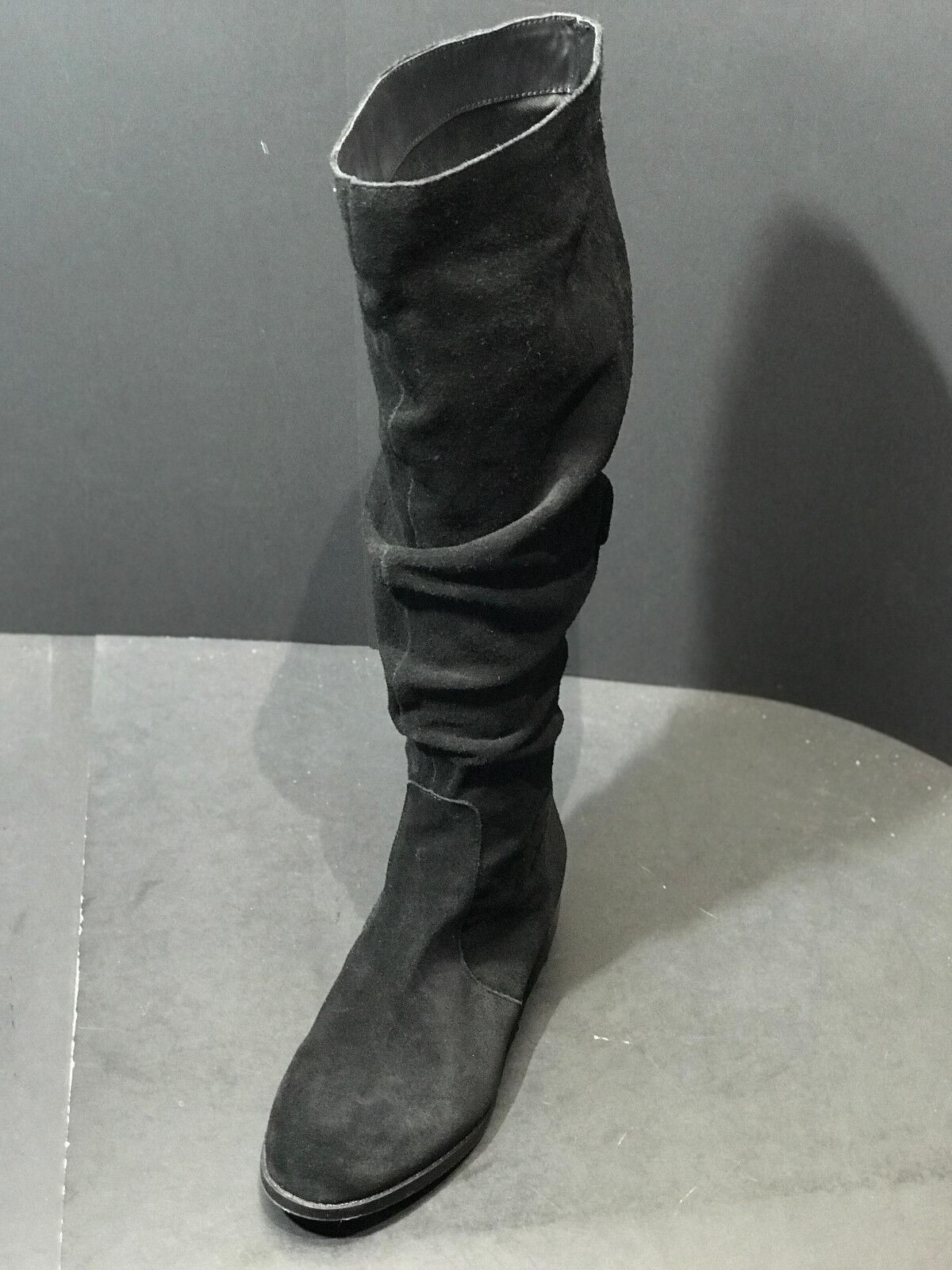 Steve Madden Damenschuhe Beacon Knee High Größe Slouch Suede Stiefel Schuhes Größe High US 7 M c78453