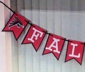 Details about Nfl Atlanta Falcons Banner Happy Birthday Anniversary Custom  Name Handmade New