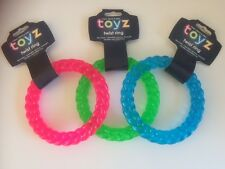 Floating Dog / Puppy Toy,Solid Twist Ring. Strong, Durable, Chewable, Bouncy.