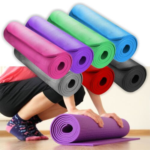 3mm Yoga Mat Non Slip Mat Thick Workout Gym//Exercise//Training Physio Plates