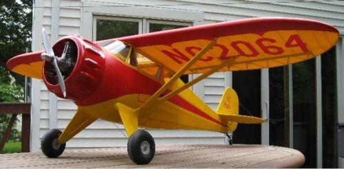 1//4 Maßstab Monocoupe 90 A 241cm Flügel Riesig RC Flugzeug Pdf Plans auf CD