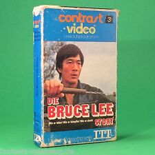 Die Bruce Lee Story Betamax Contrast Video   #ag456