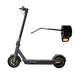 Ersatz Dial Throttle Assembly Zubehör für Ninebot Max G30 Elektroroller Scooter