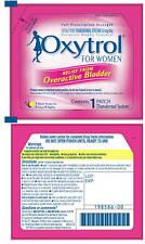8 OXYTROL Pads 32 Days OTC Bladder Leakage Control Skin Patch Diabetic OAB 3/15
